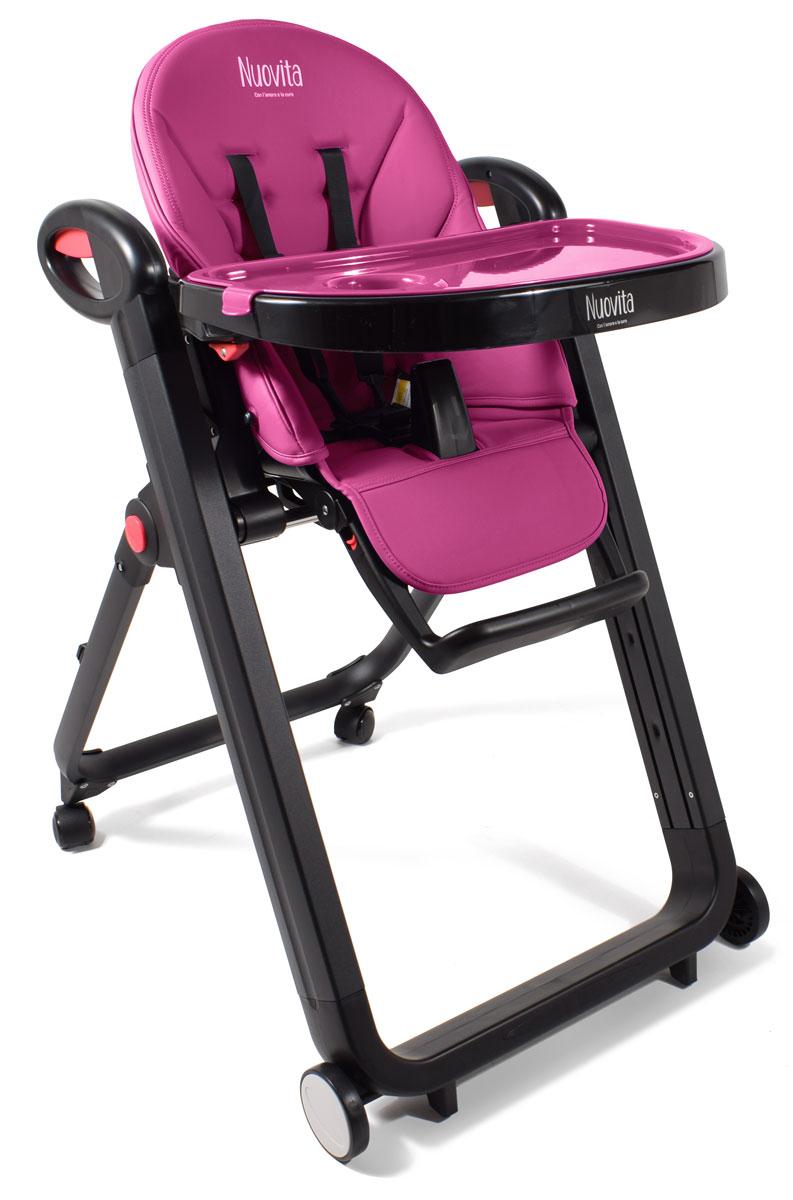 Стульчик для кормления Futuro Nero, Magenta/ПурпурныйСтульчики для кормления<br>Стульчик для кормления Futuro Nero, Magenta/Пурпурный<br>