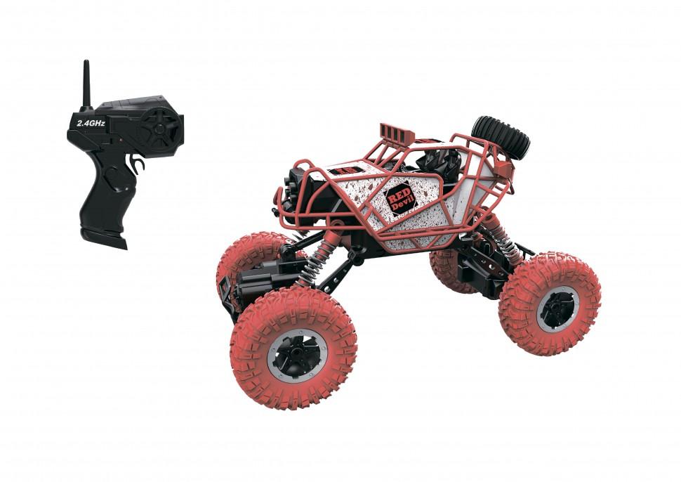 картинка Раллийная машина Драйв Бигвил - Red Devil на р/у, 2,4GHz, 4WD, масштаб 1:43 от магазина Bebikam.ru