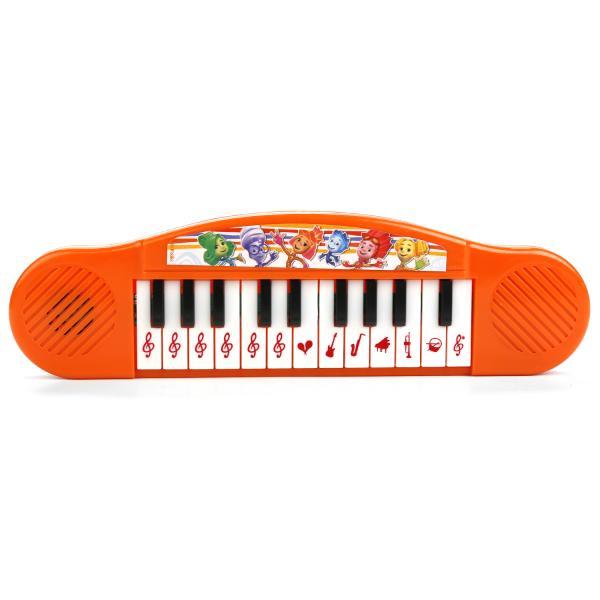 Развивающая игрушка – Пианино, 6 песен из м/ф Фиксики sim)Синтезаторы и пианино<br>Развивающая игрушка – Пианино, 6 песен из м/ф Фиксики sim)<br>