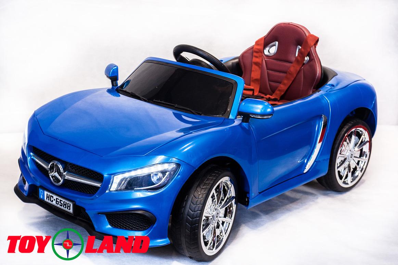 Электромобиль - MB HC 6588, синийЭлектромобили, детские машины на аккумуляторе<br>Электромобиль - MB HC 6588, синий<br>