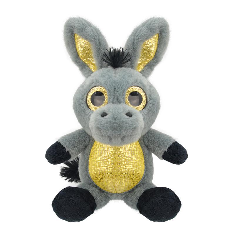 Мягкая игрушка - Большой ослик, 25 см фото