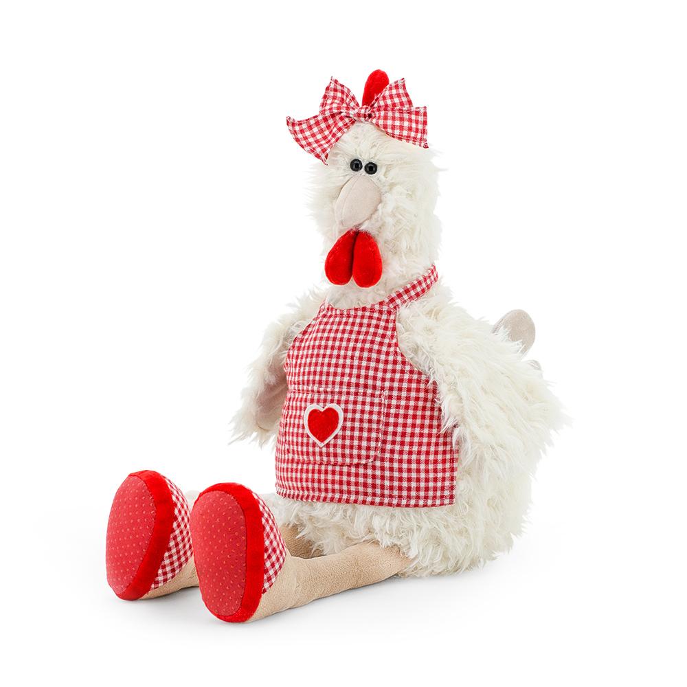 Мягкая игрушка - Курочка Фрося, 35 смЖивотные<br>Мягкая игрушка - Курочка Фрося, 35 см<br>