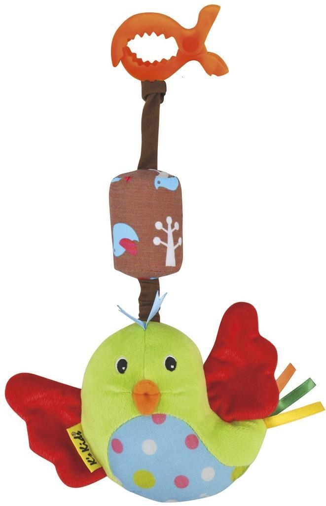 Игрушка подвесная  Птица счастья - Развивающая дуга. Игрушки на коляску и кроватку, артикул: 108941