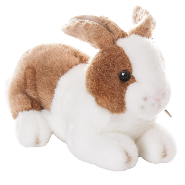 Игрушка мягкая Кролик коричневый 25 см.Зайцы и кролики<br>Игрушка мягкая Кролик коричневый 25 см.<br>