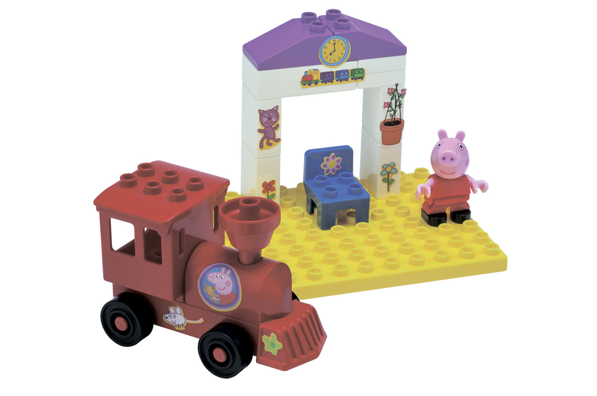 Поезд с остановкой Peppa PigСвинка Пеппа Peppa Pig<br>Поезд с остановкой Peppa Pig<br>