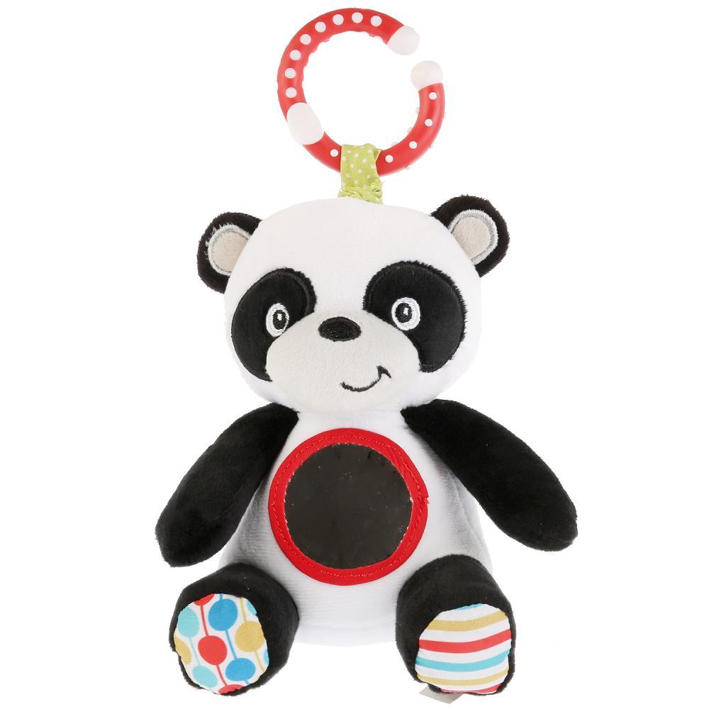 Подвеска большая Fisher Price - Панда с зеркальцем и вибрацией