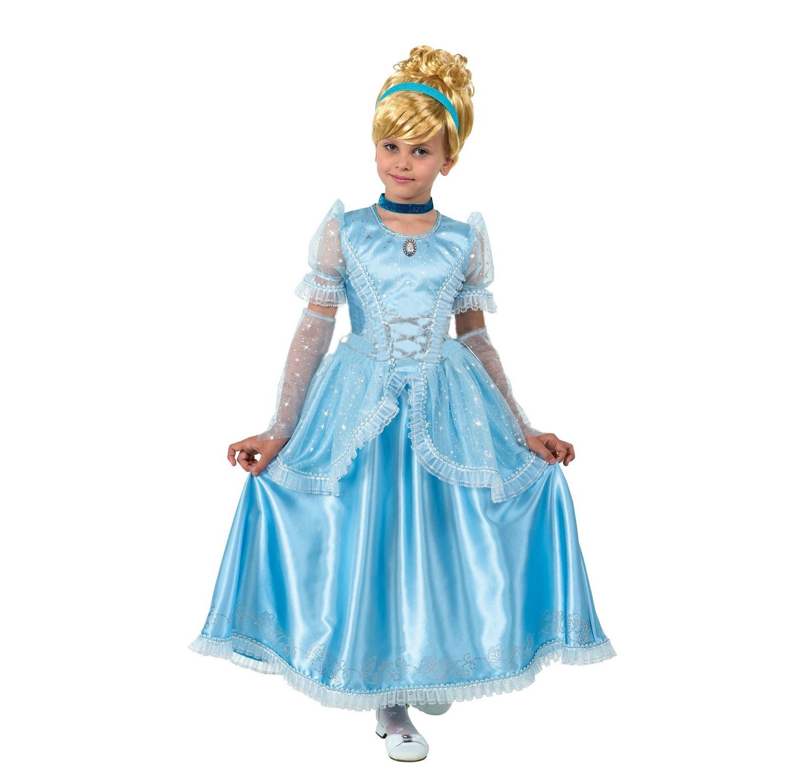Карнавальный костюм Дисней – Принцесса Золушка, размер 28 фото