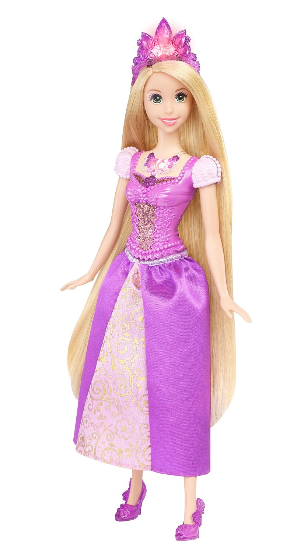 Кукла Рапунцель из серии Ослепительные Принцессы Диснея, 28 см., со светомРапунцель<br>Кукла Рапунцель из серии Ослепительные Принцессы Диснея, 28 см., со светом<br>