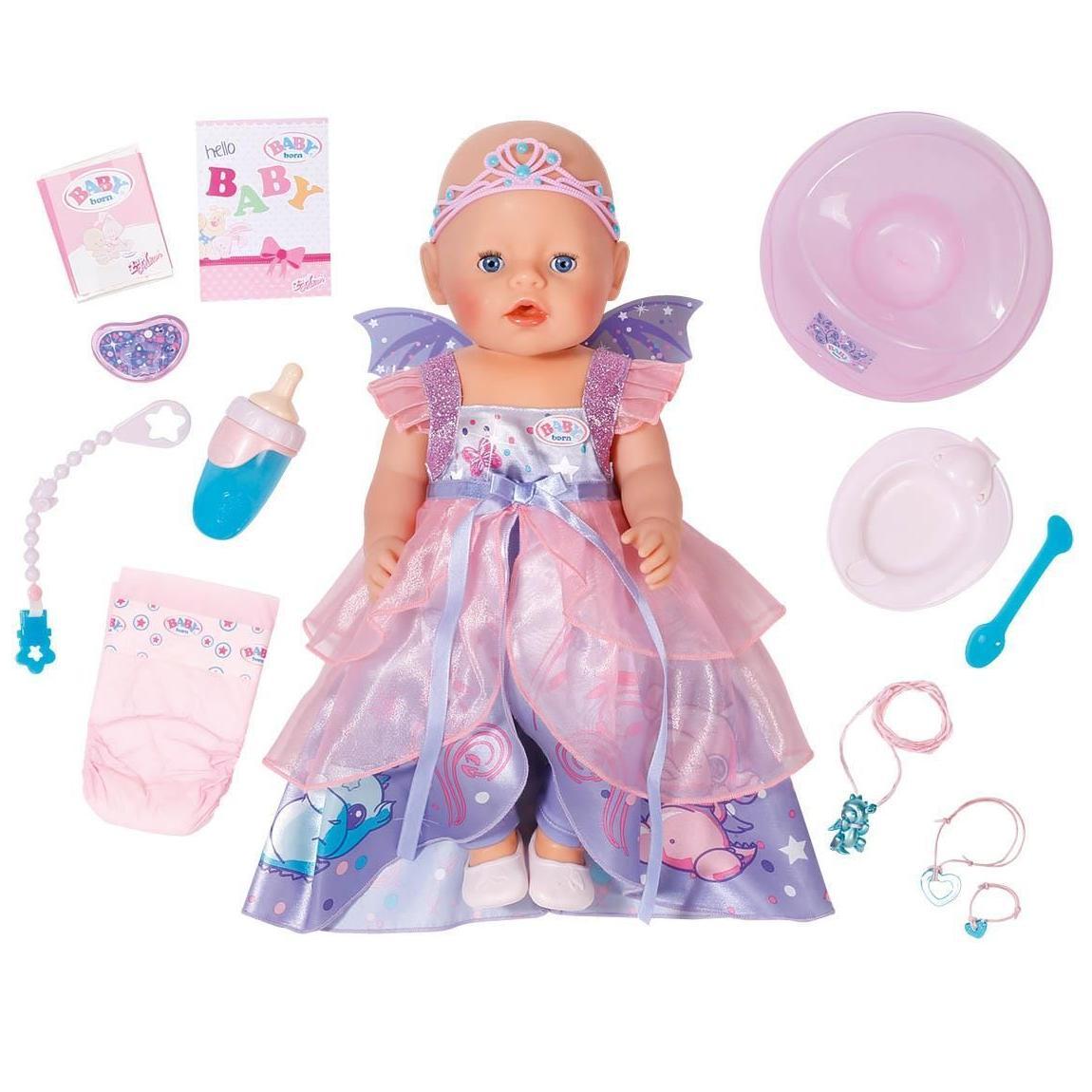 Кукла интерактивная Волшебница из серии Baby born, 43 см.Куклы-пупсы Baby Born<br>Кукла интерактивная Волшебница из серии Baby born, 43 см.<br>