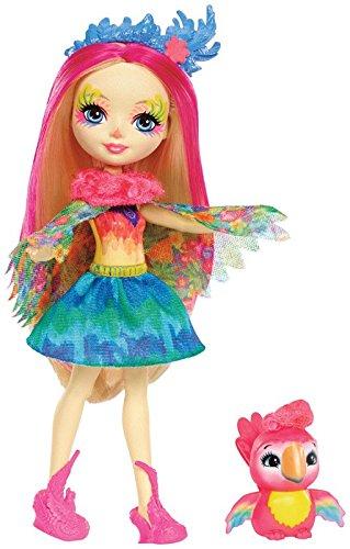 Купить Кукла Enchantimals с питомцем - Пикки Какаду, 15 см, Mattel