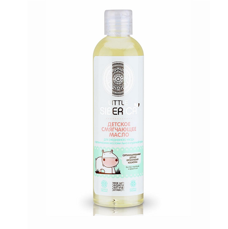Купить Детское смягчающее масло для ежедневного ухода - Little Siberica, 250 мл, Natura Siberica