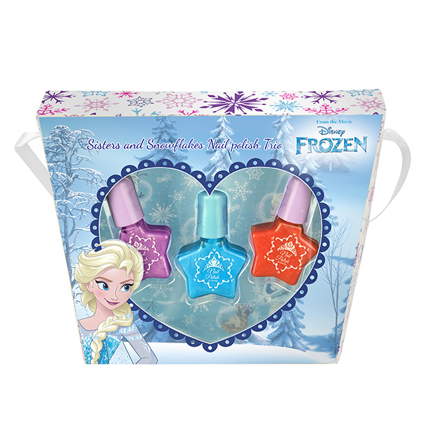 Набор детской декоративной косметики для ногтей Эльза из серии FrozenЮная модница, салон красоты<br>Набор детской декоративной косметики для ногтей Эльза из серии Frozen<br>