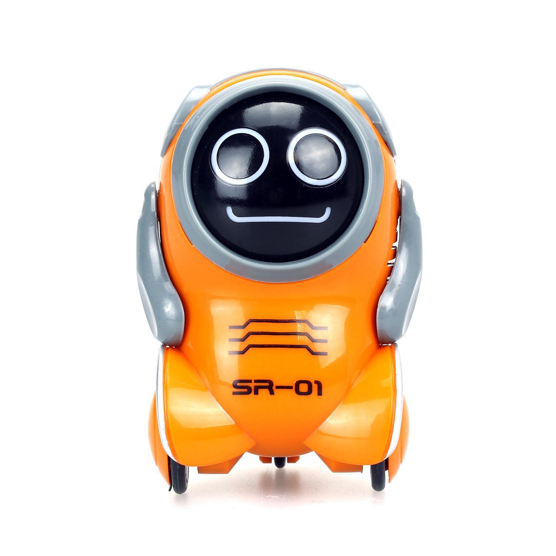 Купить Робот - Покибот, оранжевый, свет и звук, Silverlit