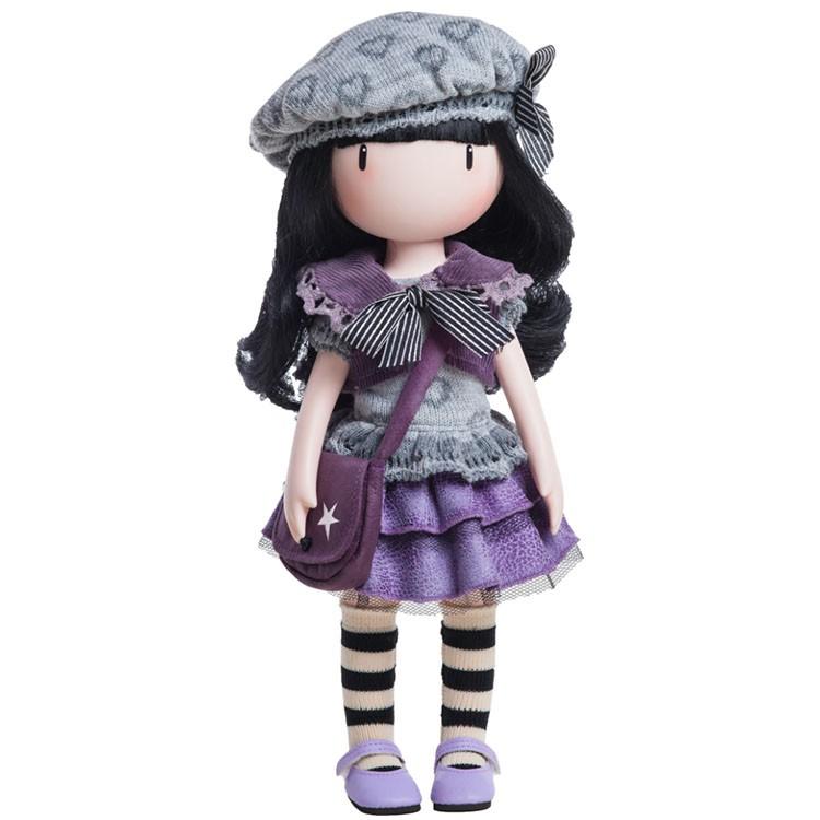 Купить Кукла Горджусс – Маленькая фиалка, 32 см., Paola Reina, Gorjuss Santoro London, 04906