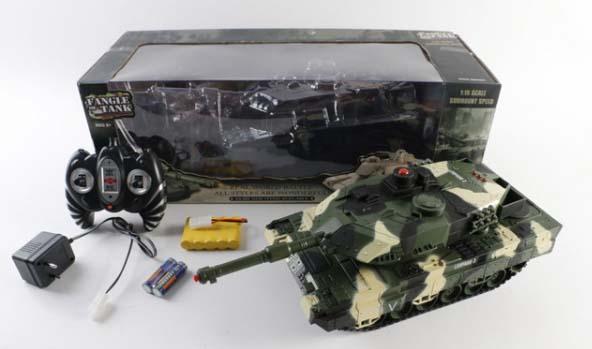 Купить Радиоуправляемая игрушка - Танк 11777, свет и звук, Shantou
