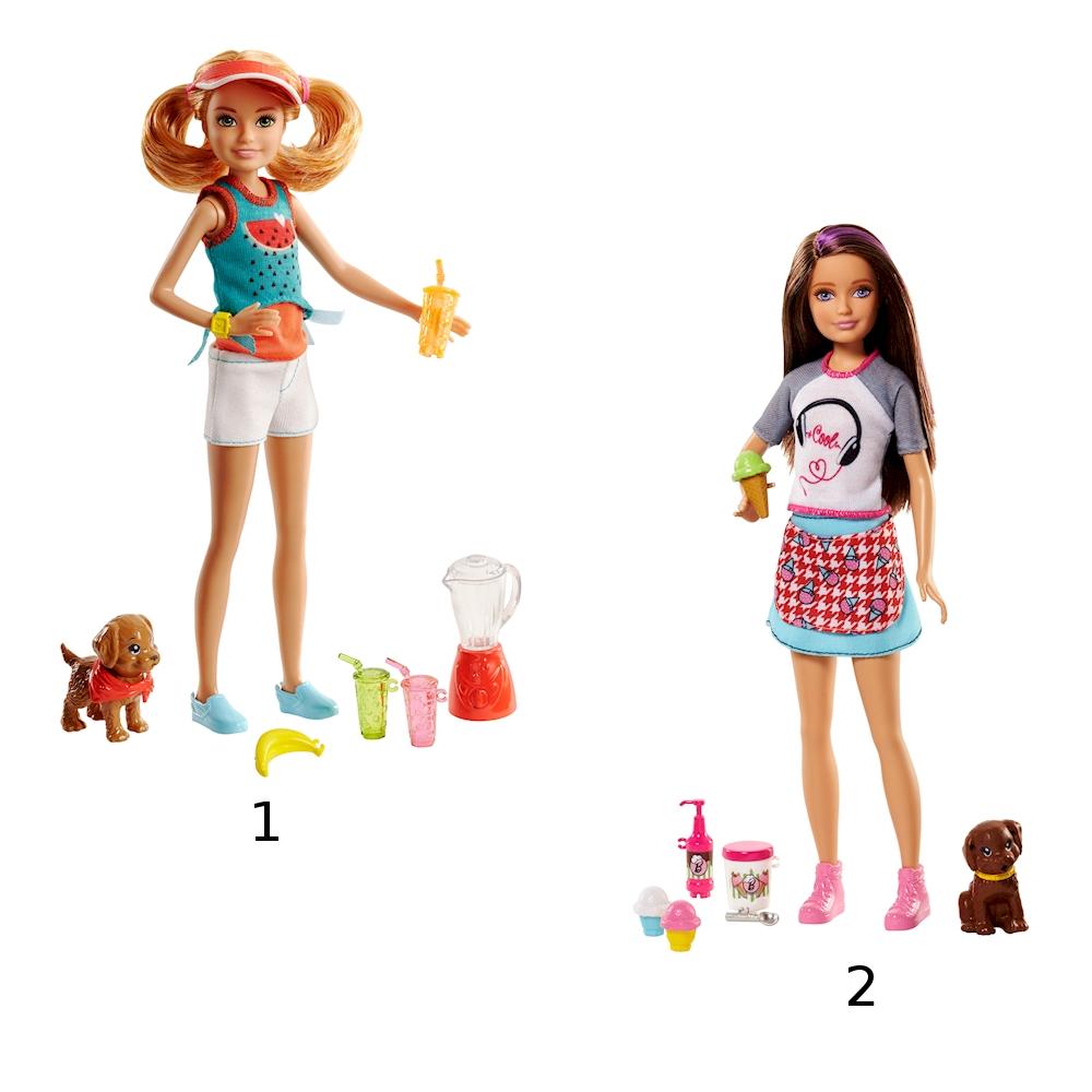 Купить Куклы из серии Barbie® - Сестры и щенки, 2 вида, Mattel