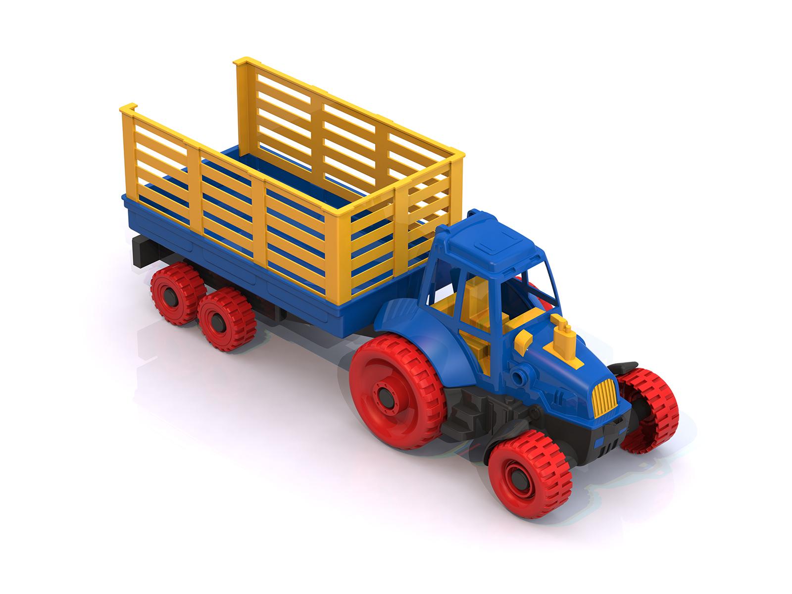 Купить Трактор с прицепом, Нордпласт
