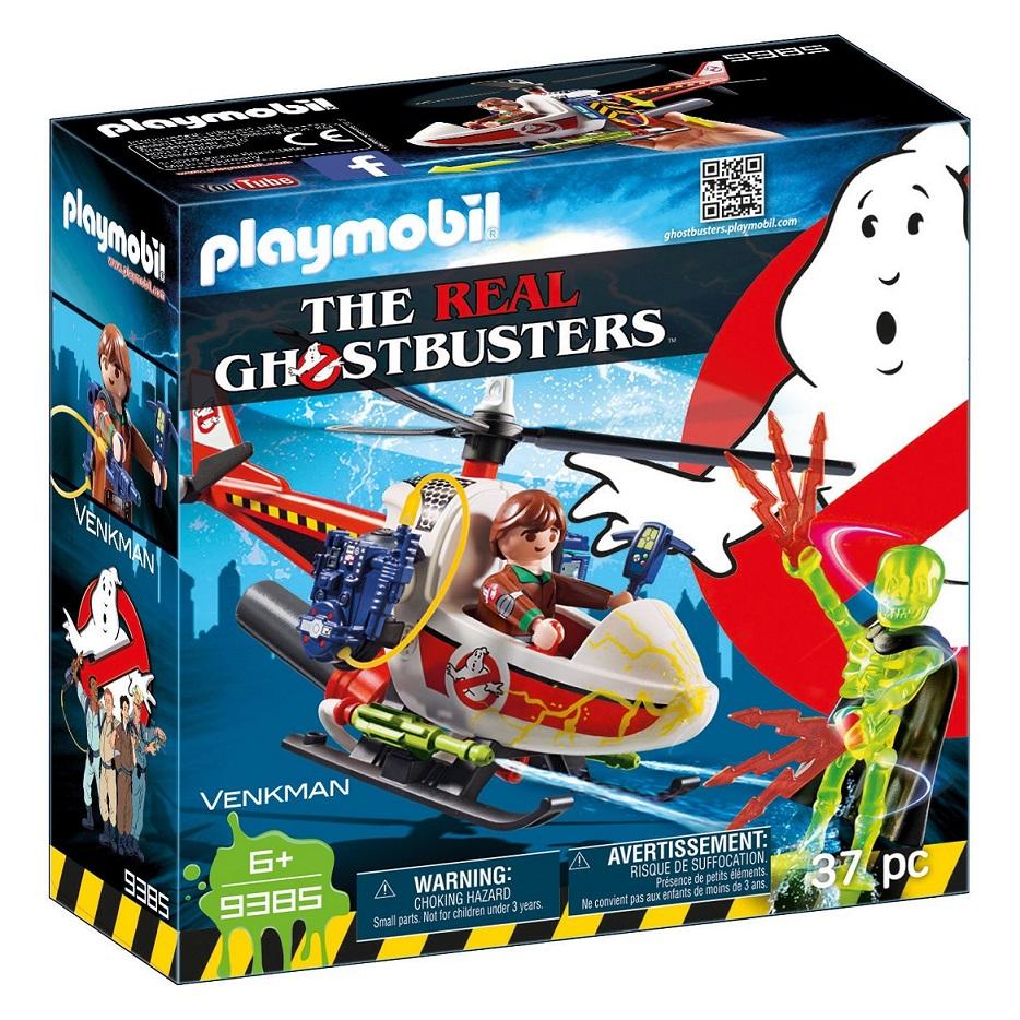 Купить Игровой набор из серии Охотники за привидениями: Вэнкман с вертолетом, Playmobil