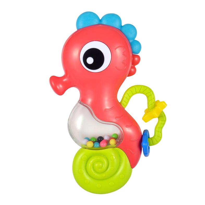 Игрушка музыкальная - Морской конек, со светом фото