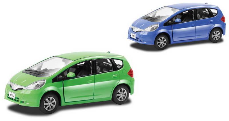 Купить Металлическая инерционная машина RMZ City - Honda Jazz, 1:32, 2 цвета