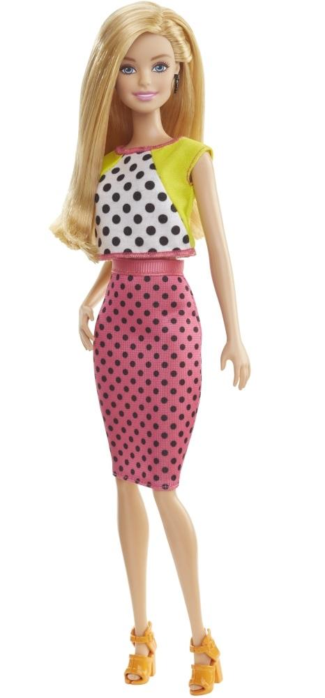 Кукла Barbie - Игра с модой - Блондинка в юбке в горошекКуклы Barbie (Барби)<br>Кукла Barbie - Игра с модой - Блондинка в юбке в горошек<br>