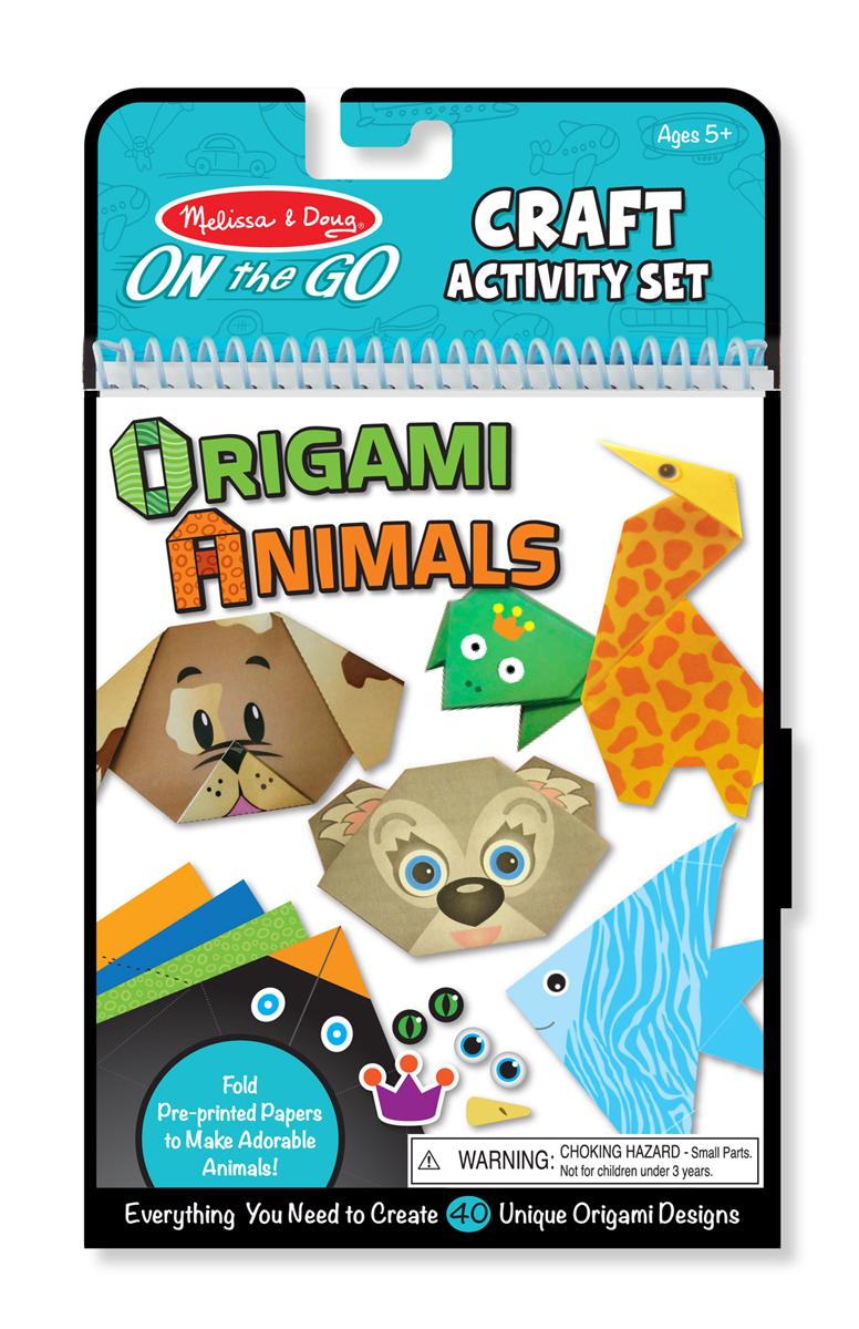 Оригами - Животные из серии ТворчествоОРИГАМИ<br>Оригами - Животные из серии Творчество<br>