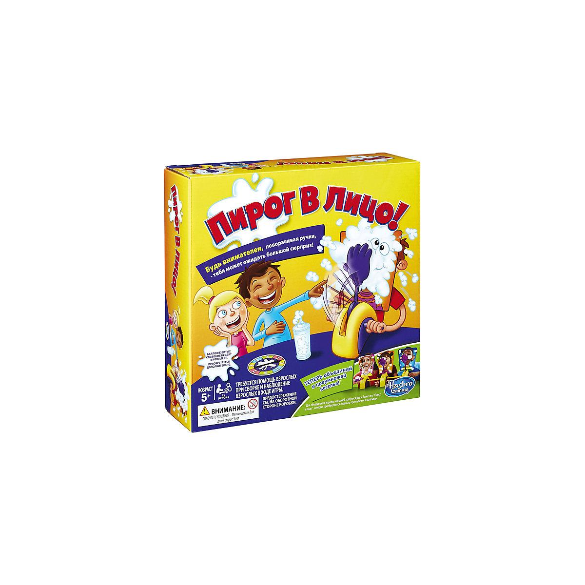 Купить Игра настольная - Пирог в лицо, с рулеткой, Hasbro