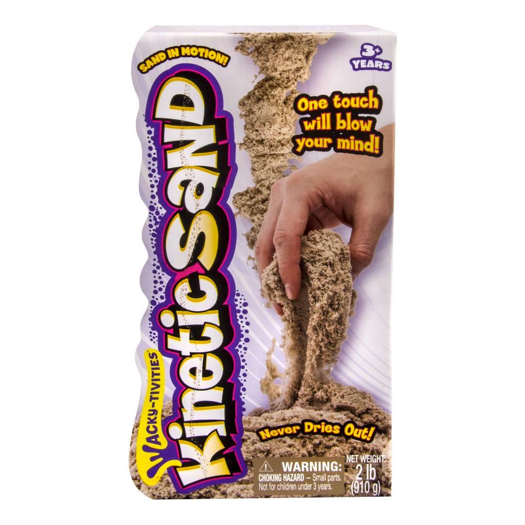 Набор Kinetic sand - Песок дл лепки. Коричневого цветаКинетический песок<br>Набор Kinetic sand - Песок дл лепки. Коричневого цвета<br>
