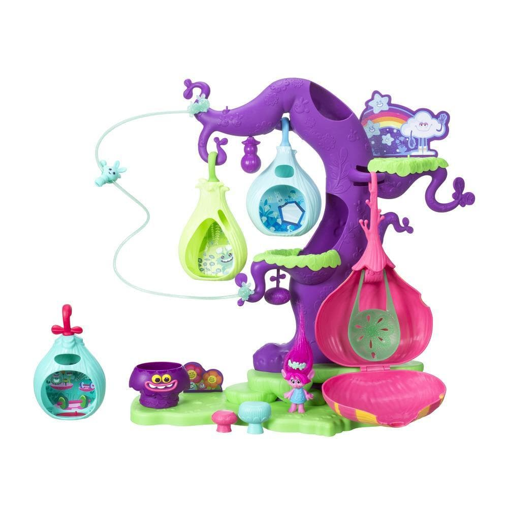 Игровой набор Trolls - Волшебное дерево троллейТролли игрушки<br>Игровой набор Trolls - Волшебное дерево троллей<br>