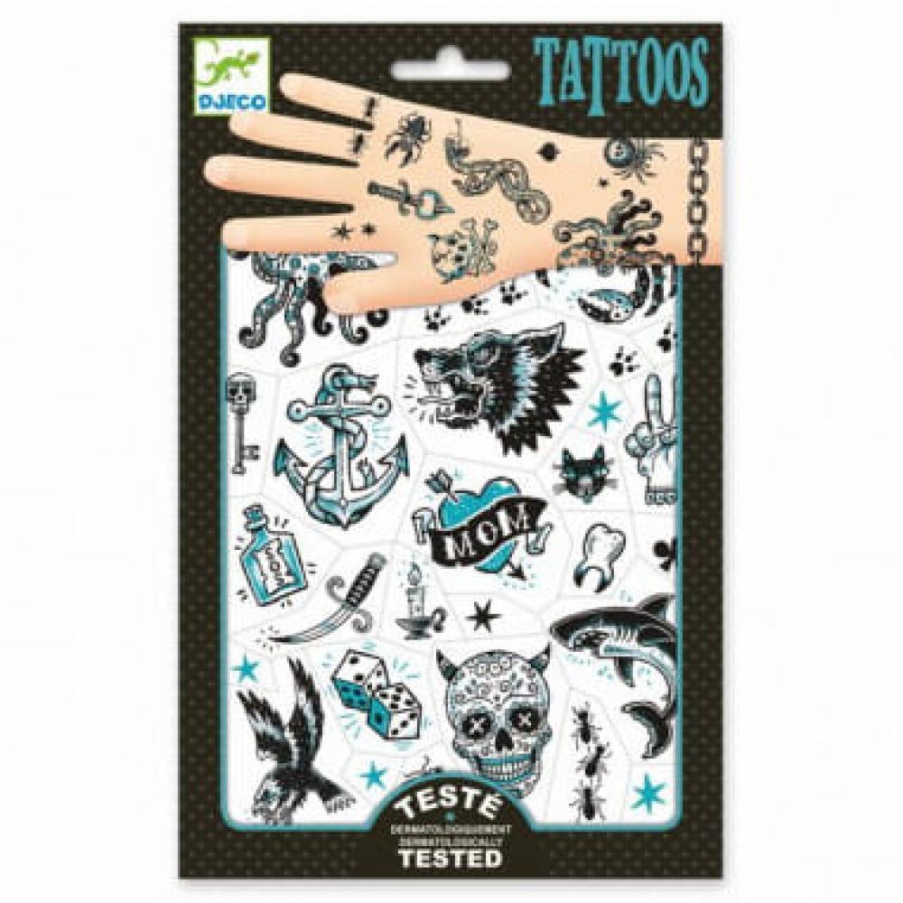 Татуировки Пираты, 2 листа фото