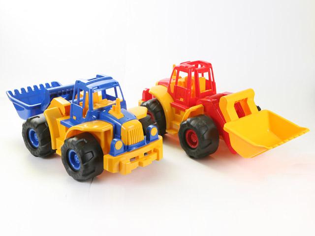 Трактор - Богатырь с грейдеромИгрушечные тракторы<br>Трактор - Богатырь с грейдером<br>