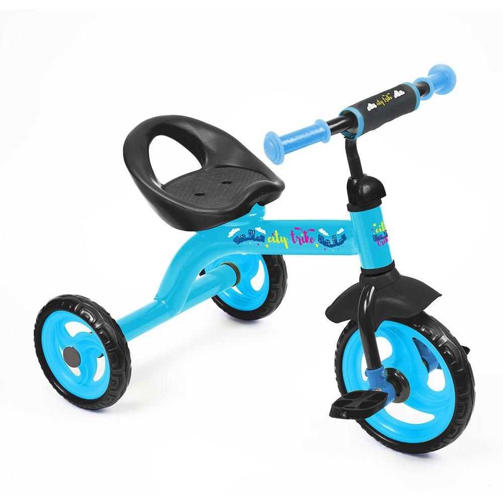 Велосипед City trike СТ-13, голубой - Велосипеды детские, артикул: 159219