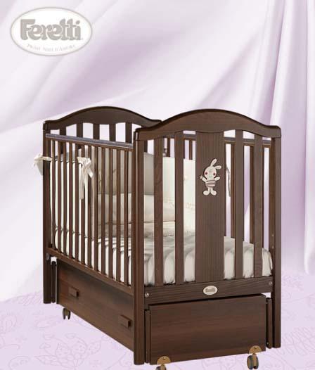 Кровать детская Ricordoswing NoceДетские кровати и мягкая мебель<br>Кровать детская Ricordoswing Noce<br>