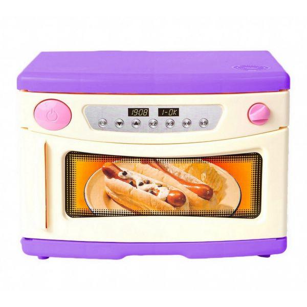 Микроволновая печь фиолетового цвета. Морской бризАксессуары и техника для детской кухни<br>Микроволновая печь фиолетового цвета. Морской бриз<br>