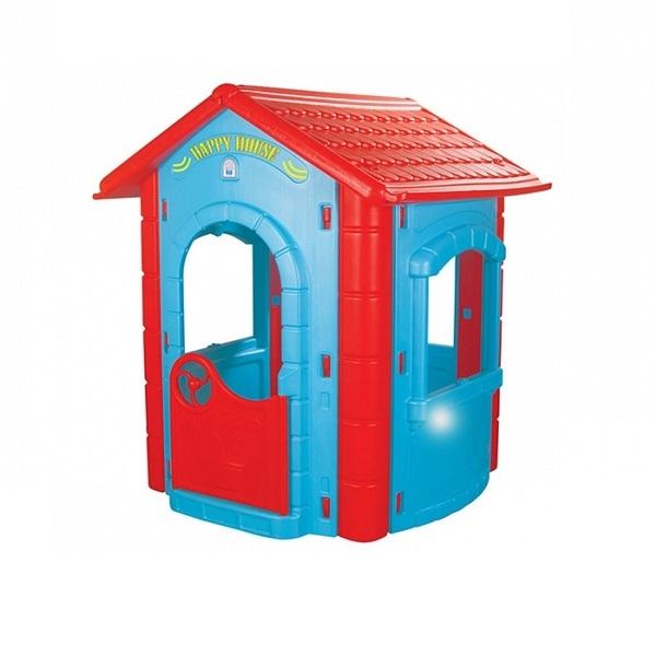 Игровой домик - Happy HouseПластиковые домики для дачи<br>Игровой домик - Happy House<br>