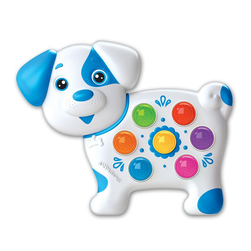 Купить Игрушка музыкальная - Собачка из серии Веселушки, Азбукварик