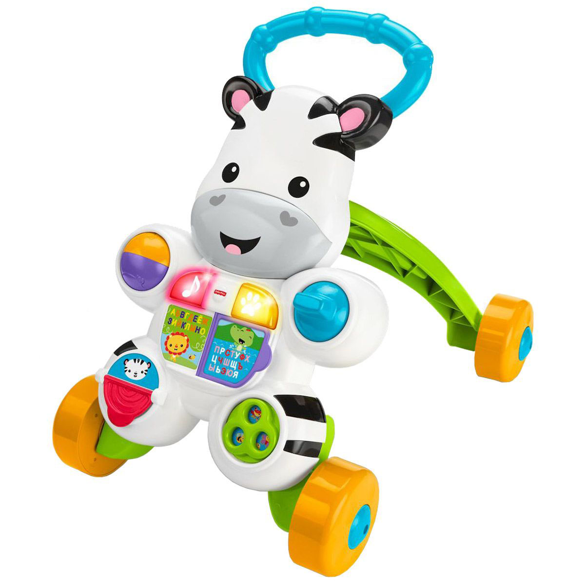 Каталка Fisher-Price® - ЗебраРазвивающие игрушки Fisher-Price<br>Каталка Fisher-Price® - Зебра<br>