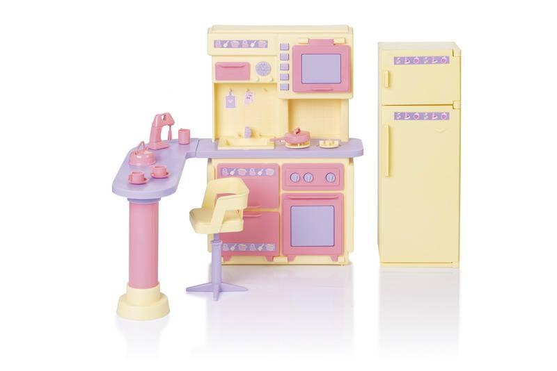 Купить Кухня - Маленькая принцесса, цвет лимонный, Огонек