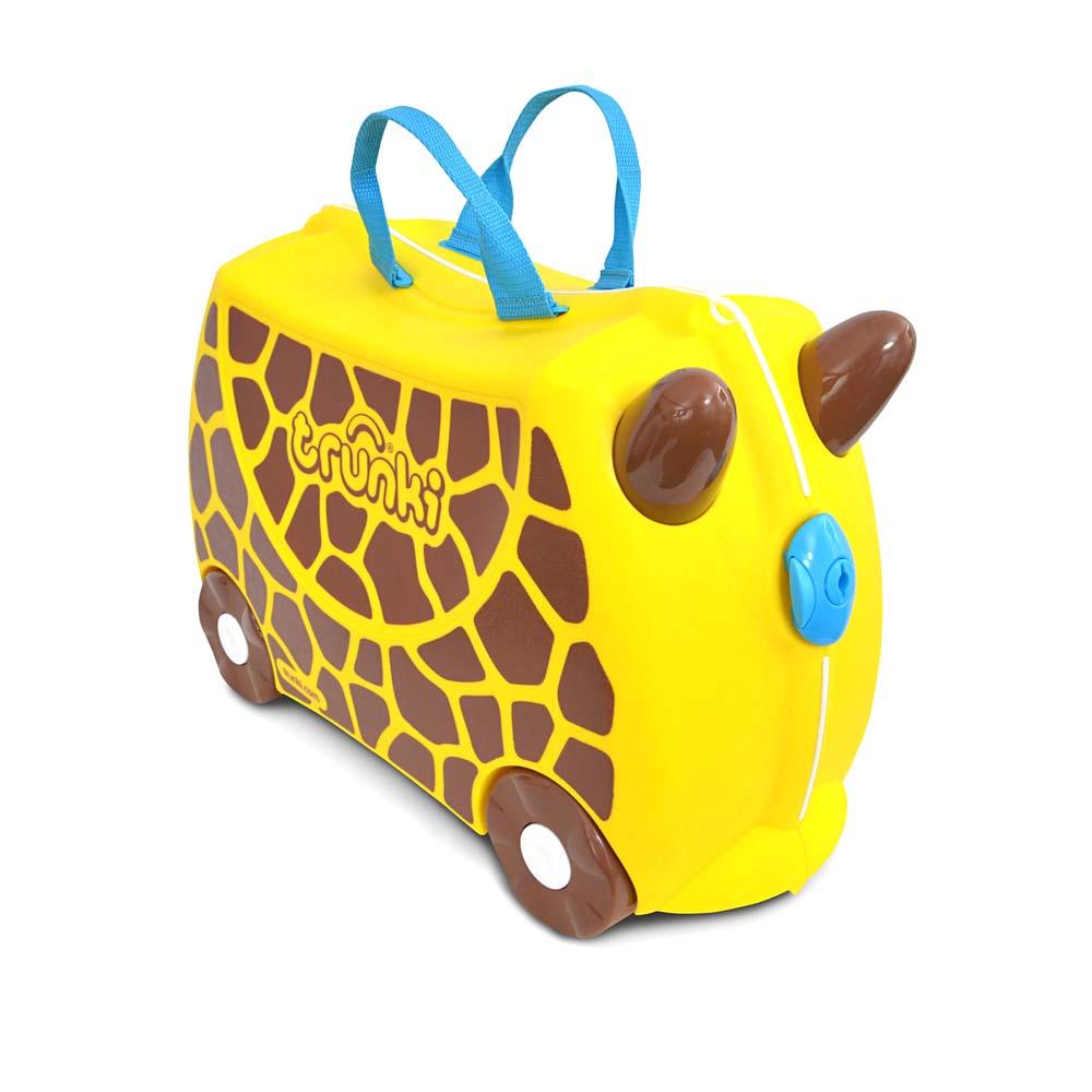 Чемодан на колесиках - Жираф ДжериЧемоданы для путешествий<br>Чемодан на колесиках - Жираф Джери<br>