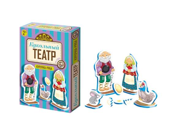 Театр кукольный на столе. Курочка-РябаДетский кукольный театр <br>Театр кукольный на столе. Курочка-Ряба<br>