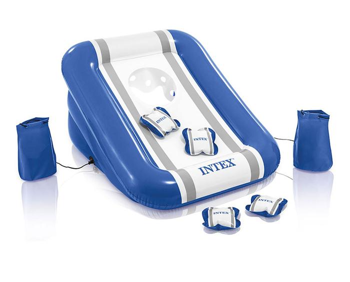 Купить Надувной игровой центр для тренировки броска, 4 подушки, Intex