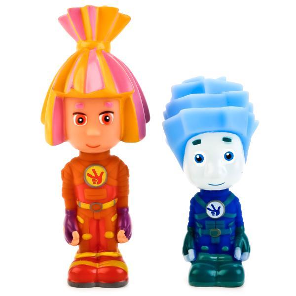 Игрушки для ванной из серии Фиксики – Нолик и Симка, в сеткеРезиновые игрушки<br>Игрушки для ванной из серии Фиксики – Нолик и Симка, в сетке<br>
