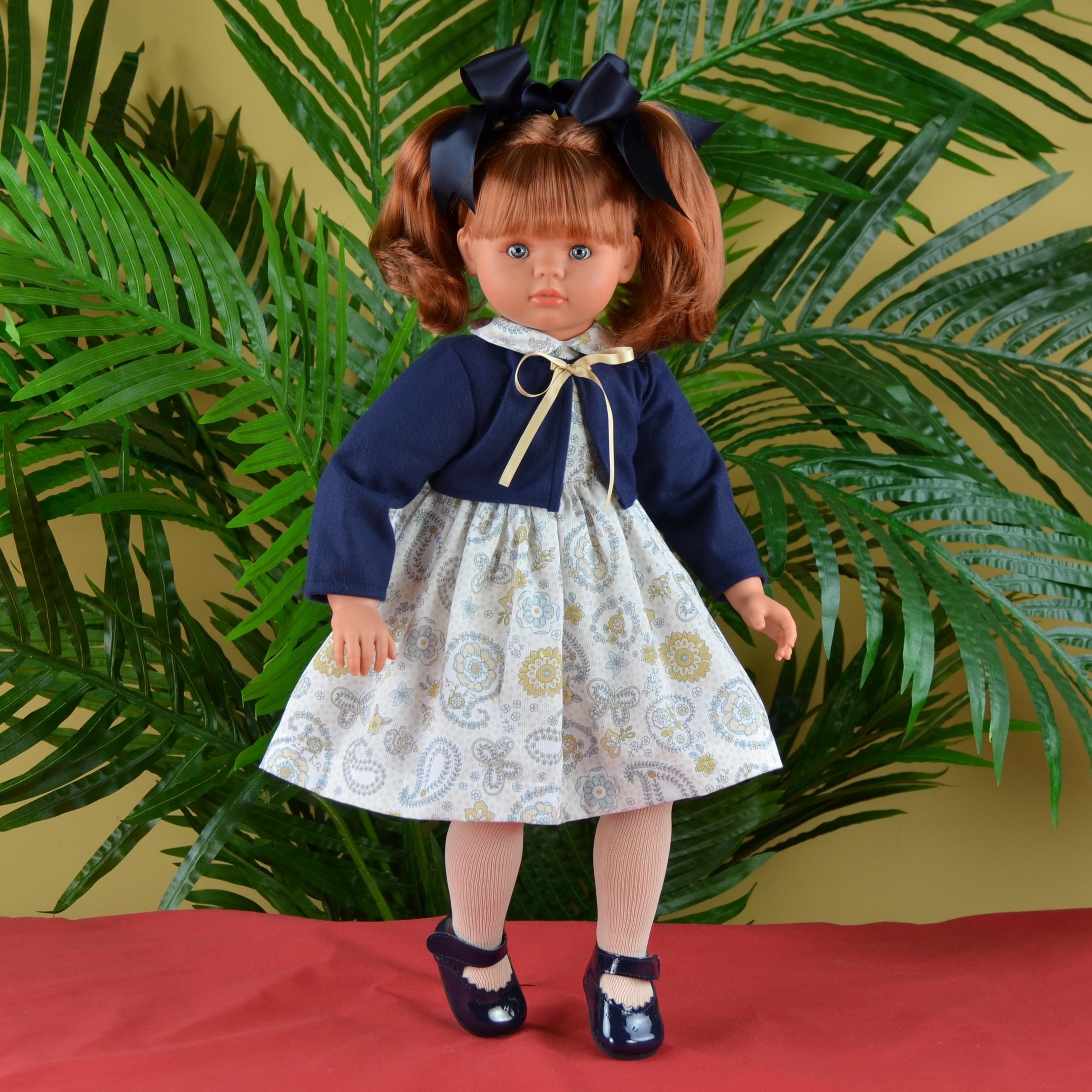 Кукла Пепа в синем болеро, 60 см. - Скидки до 70%, артикул: 143018
