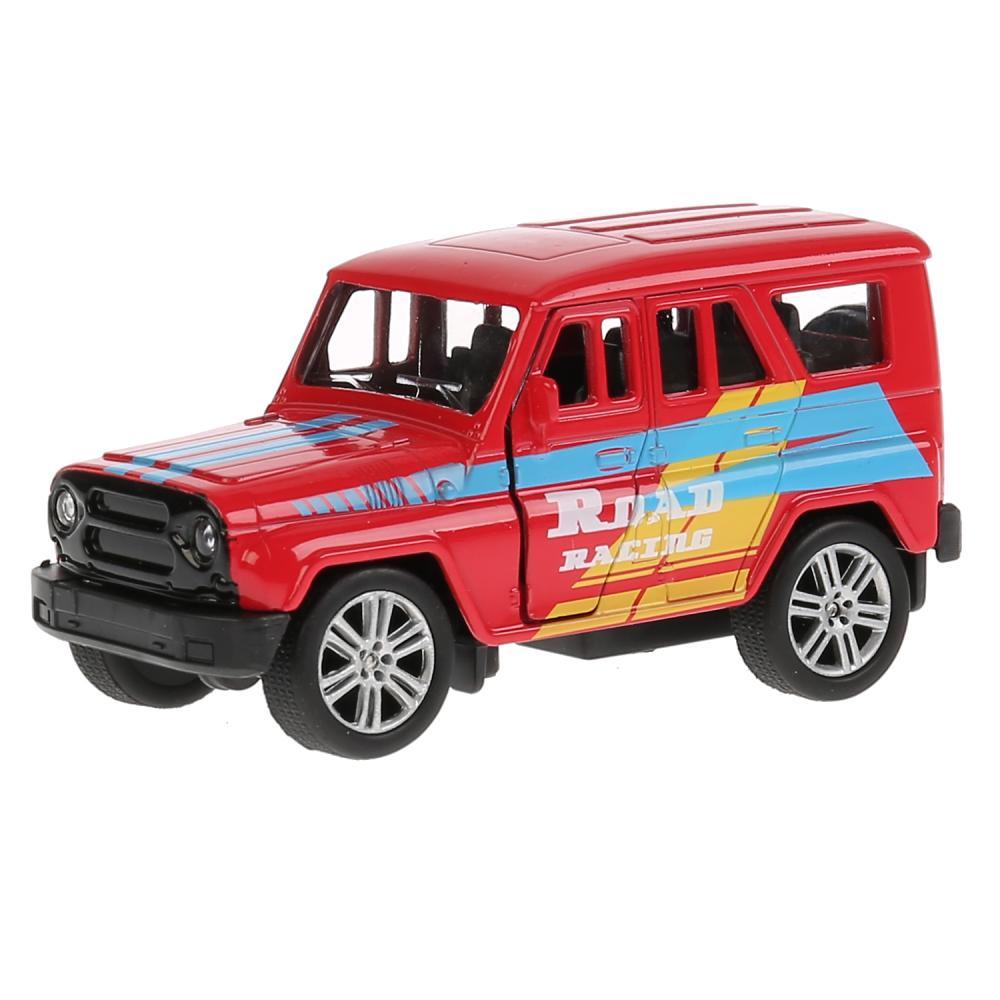 Купить Джип Уаз Hunter спорт 11, 5 см, открываются двери и багажник, инерционный механизм, Технопарк
