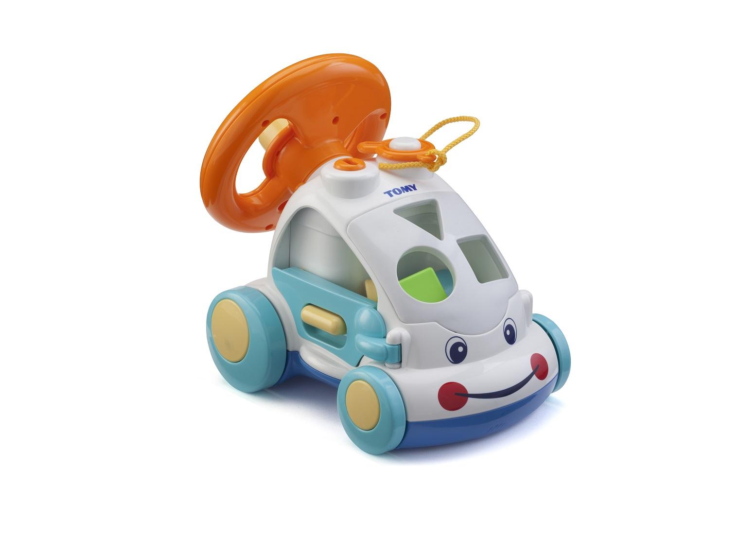 Интерактивный автомобиль-сортерСортеры, пирамидки<br>Интерактивный автомобиль-сортер<br>