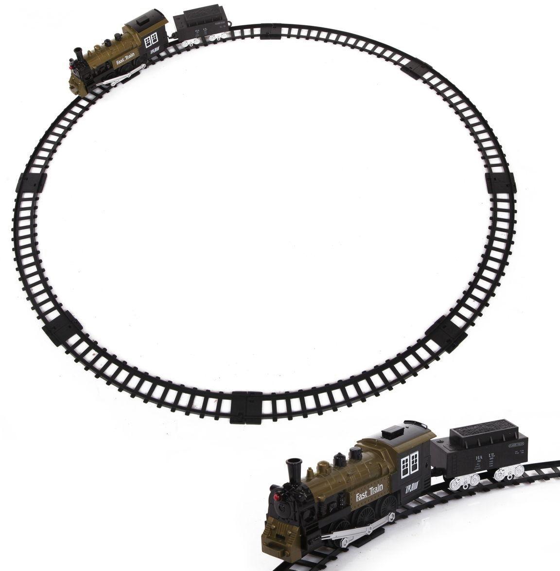 Купить Железная дорога со световыми эффектами и дымом – Classic train, Yako