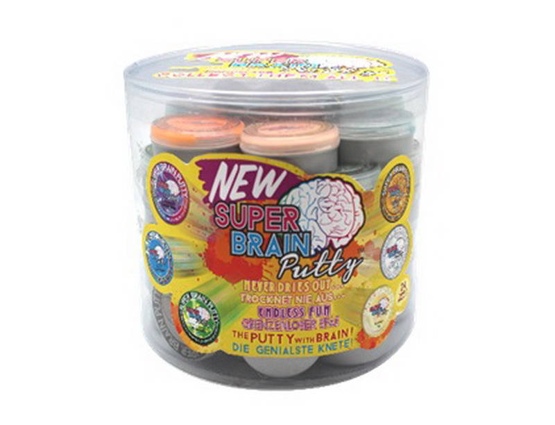 Жвачка для рук - Super Brain Putty, мини версия, 20 г