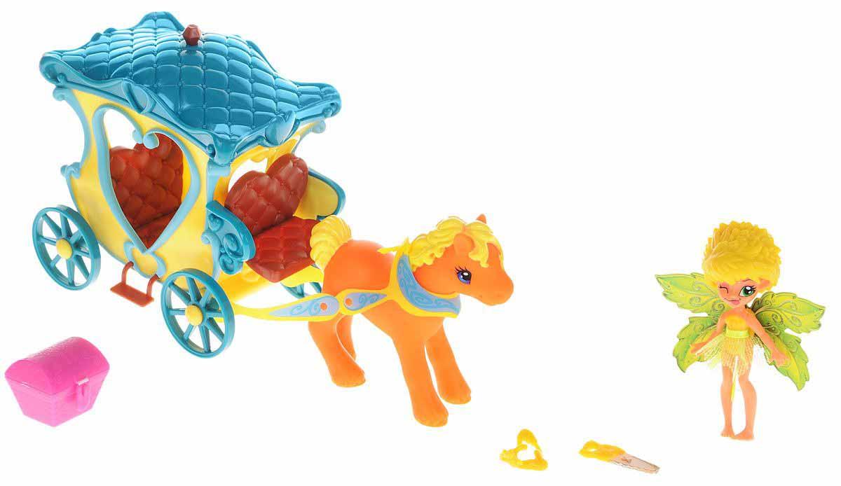 Купить Набор FairyKins – Фея Данди в голубой карете, Lanard
