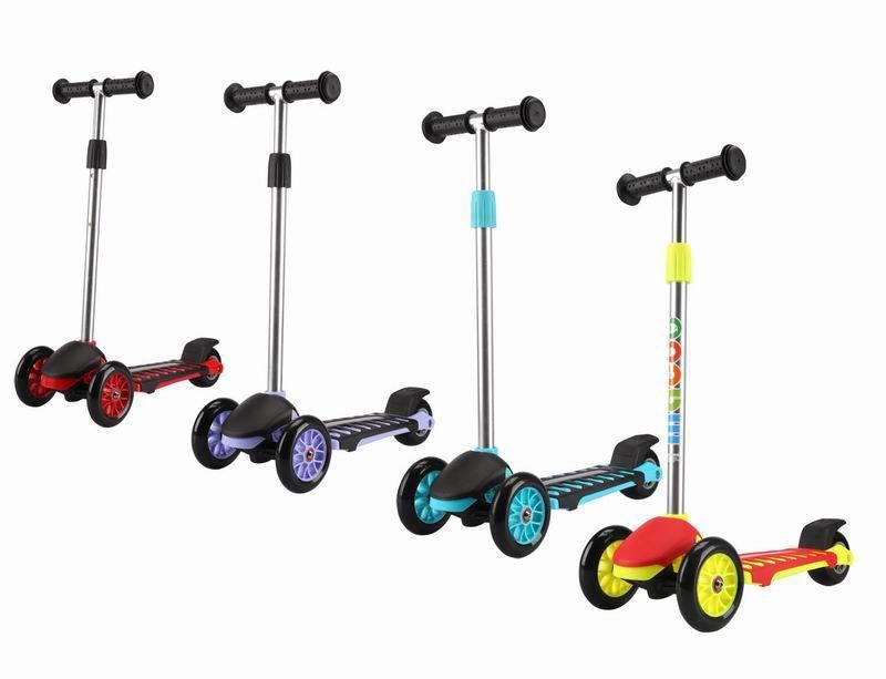 Купить Самокат трехколесный с максимальной нагрузкой до 40 кг., Roing Scooters