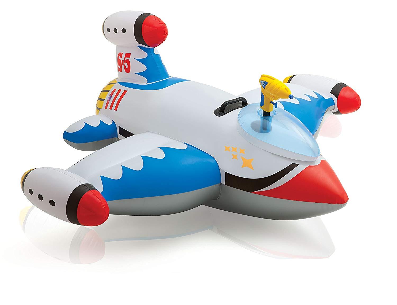 Надувная игрушка - Звездолет с водной пушкой, 147 х 127 см
